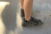 shoes,camouflage sneakers