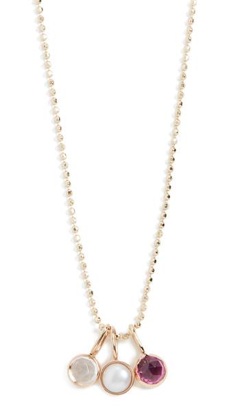 Ariel Gordon Jewelry 14k Mini Rose Cut Necklace