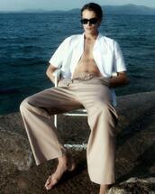 sunglasses,top,pants