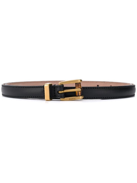 Gucci buckle belt in black