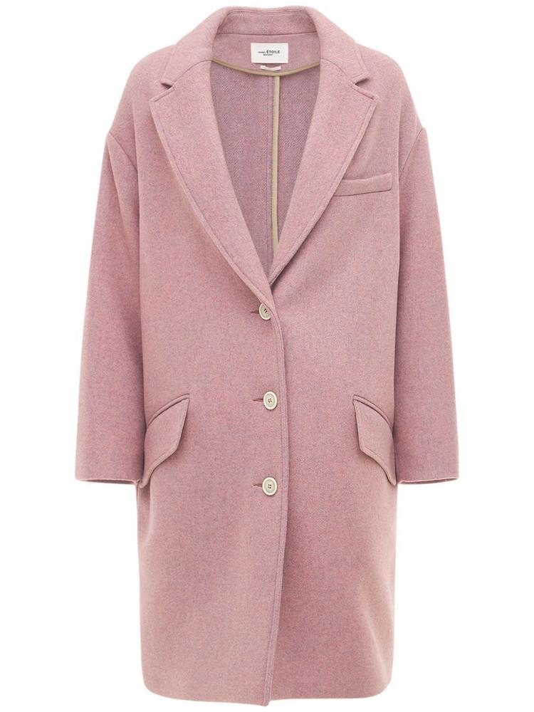 ISABEL MARANT ÉTOILE Limi Wool Blend Short Coat in pink