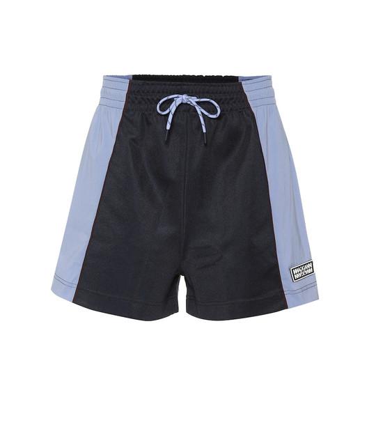 Ganni Technical shorts in blue