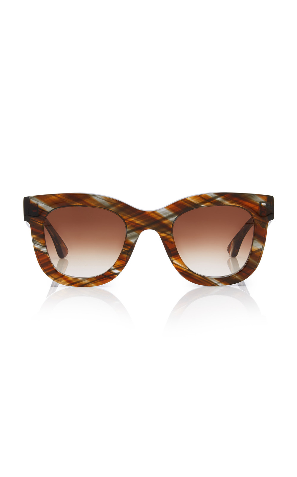Thierry Lasry Gambly 708 Cat-Eye Acetate Sunglasses in print