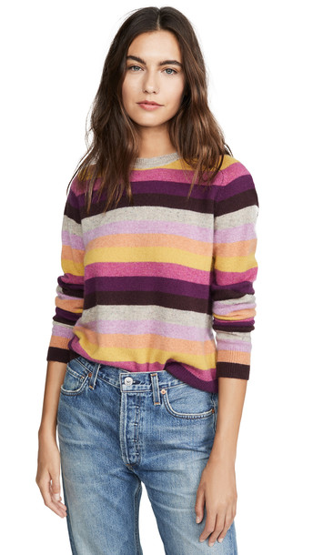 Velvet Mariah Cashmere Sweater in multi