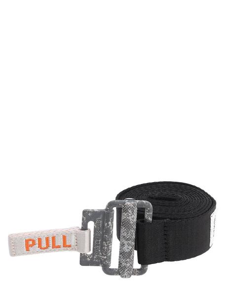 HERON PRESTON 30mm Kk Tape Belt in black