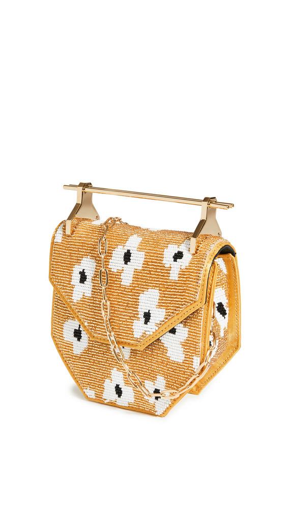 M2MALLETIER Mini Amor Fati Bag in gold