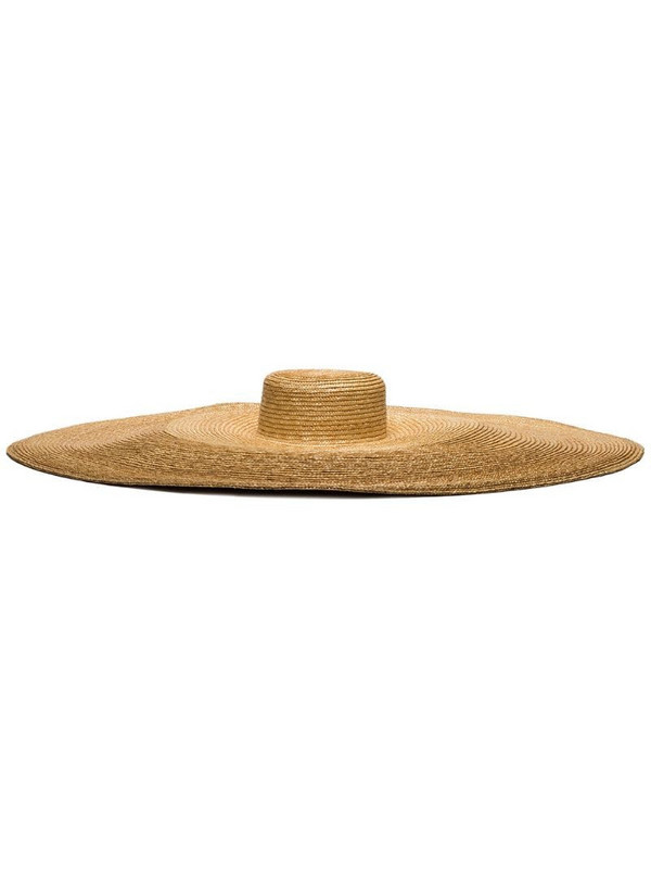 ELIURPI Le Grand straw hat in neutrals