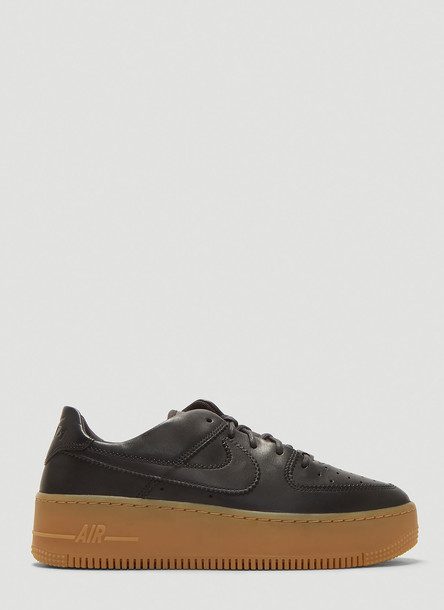 Nike Air Force 1 Sage Low LX Sneakers in Black size US - 09
