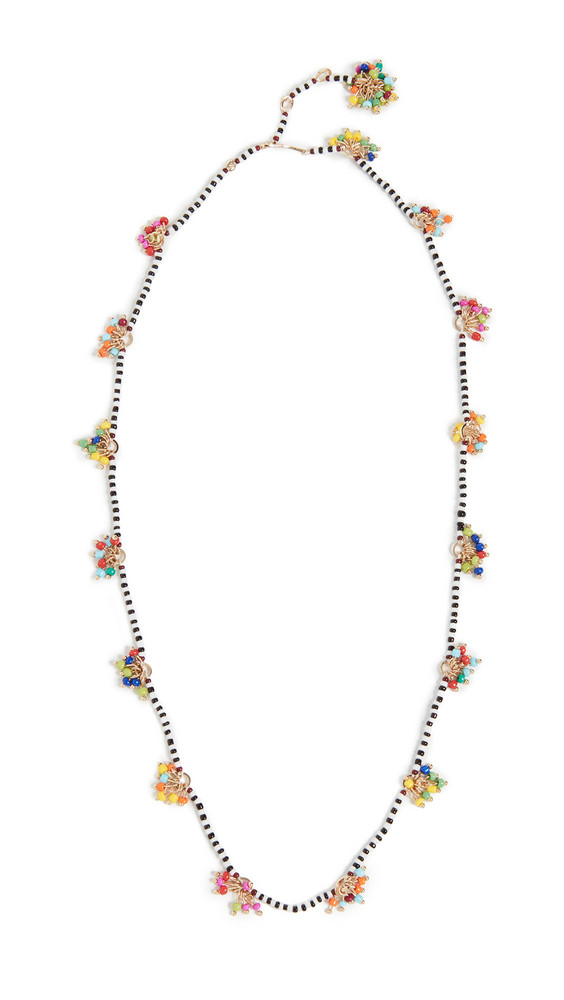Roxanne Assoulin Dangle & Fringe Beaded 4-way Necklace in multi