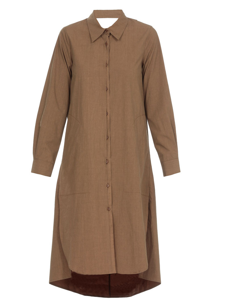 Uma Wang Ami Dress in brown