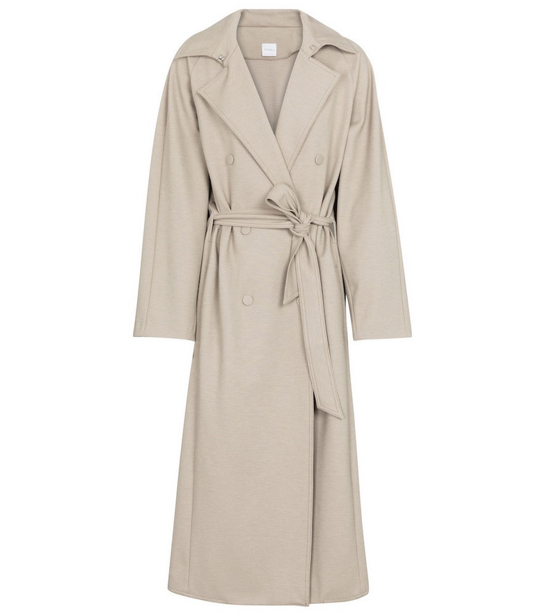 Max Mara Leisure Cinghia belted trench coat in beige