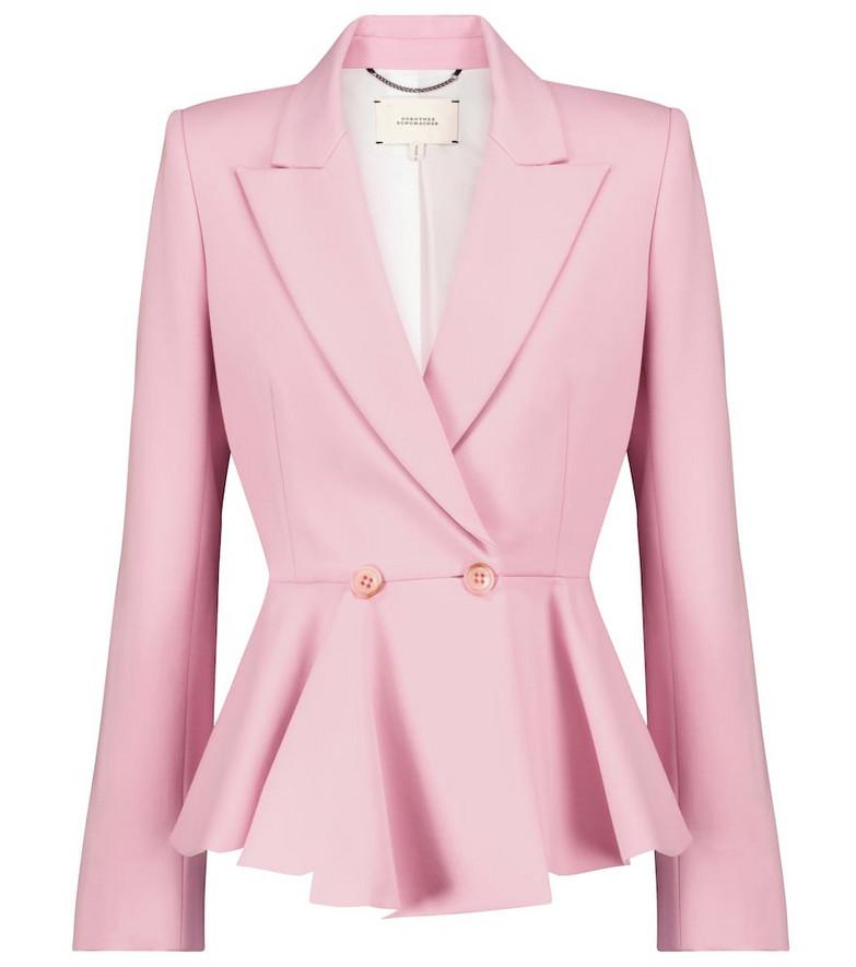 Dorothee Schumacher Exclusive to Mytheresa – Emotional Essence blazer in pink