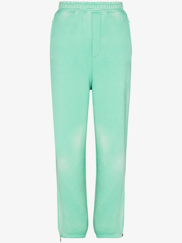 We11done track pants in green