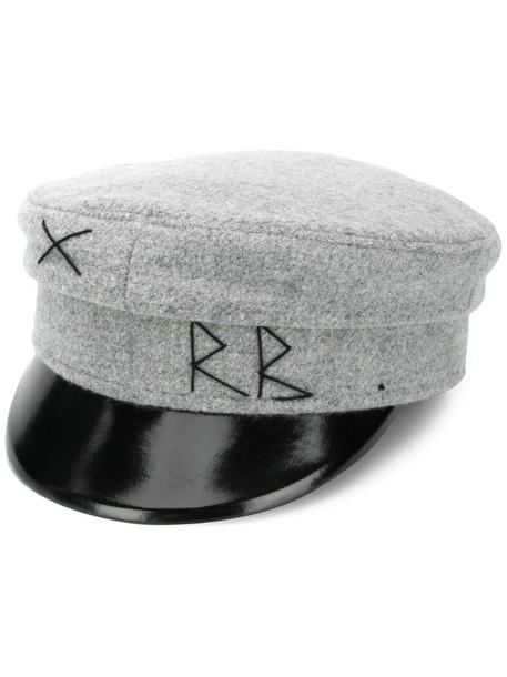 Ruslan Baginskiy military baker boy hat in grey