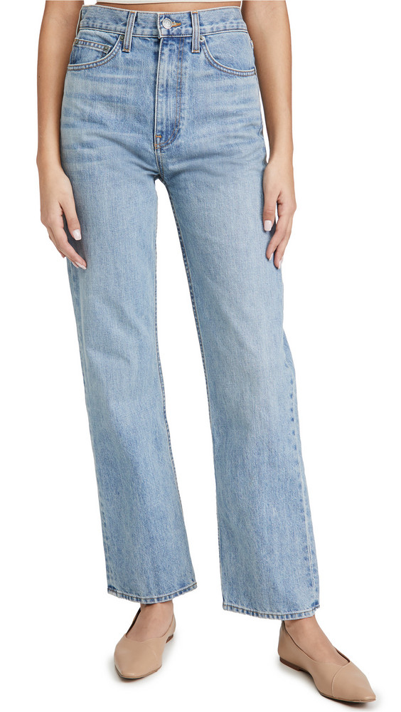 Brock Collection Ladies Woven Jeans in navy