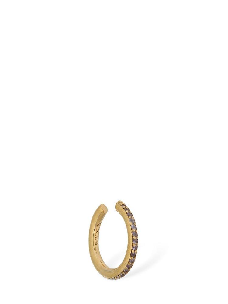 MARIA BLACK 10mm Crystal Mono Ear Cuff in gold