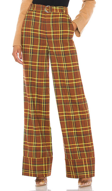h:ours Brooklyn Trousers in Brown