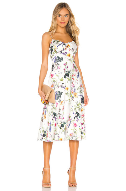 Bailey 44 Puff Pastry Dress in white