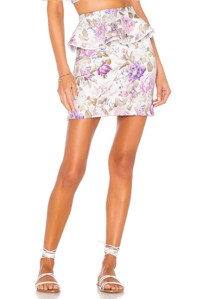 BEACH RIOT x V. Chapman Gardenia Skirt in purple