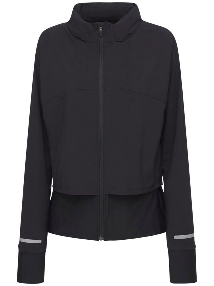 SWEATY BETTY Fast Track Running Jacket in black