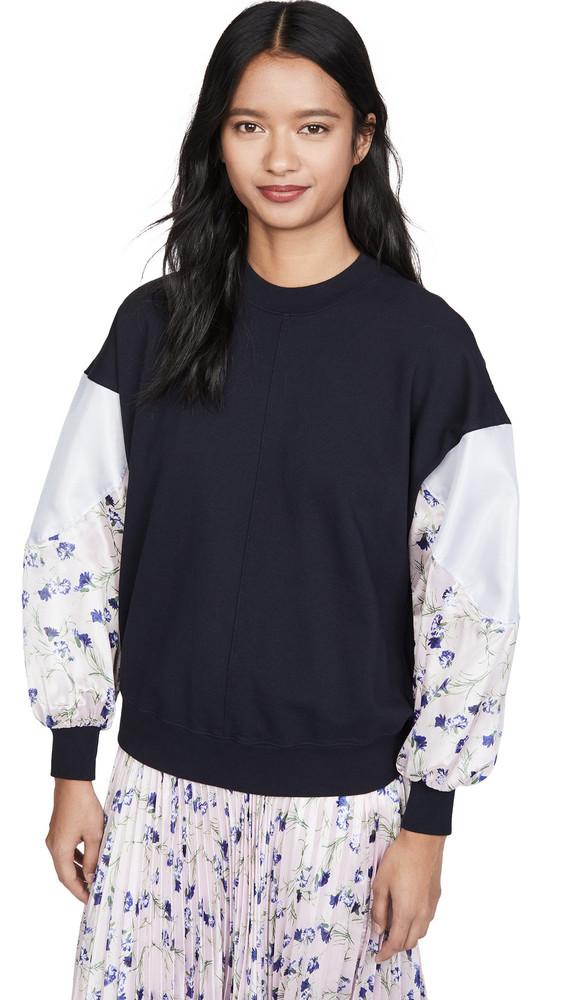 Clu Dolman Sleeve Pullover in navy