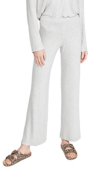 Leset Lori Wide Leg Pants in grey