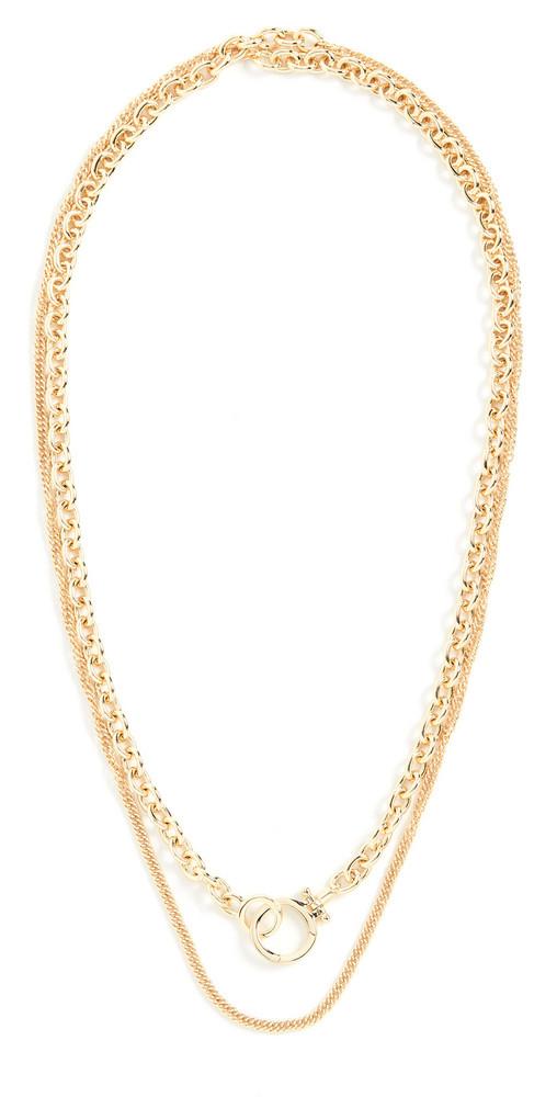 Gorjana Wilder Wrap Necklace in gold
