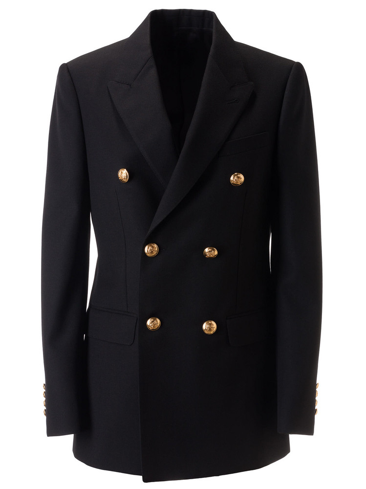 Celine Double Breasted Blazer in black