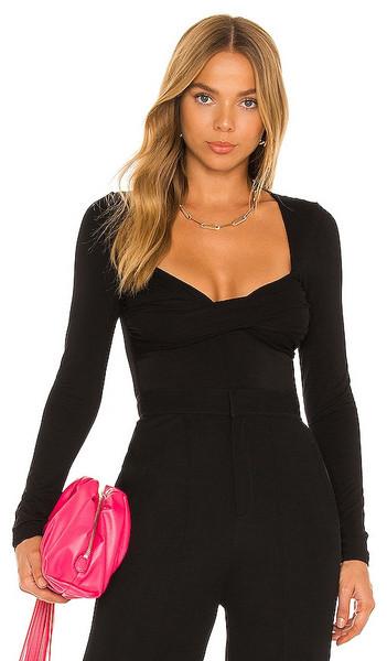 Lovers + Friends Lovers + Friends Mikka Bodysuit in Black