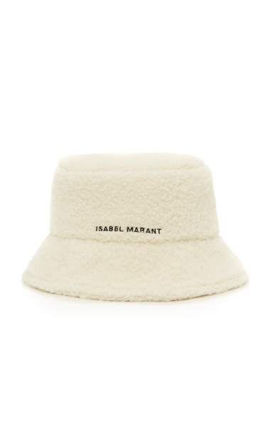 Isabel Marant Denji Bucket Hat in white