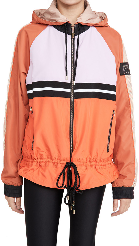 P.E NATION Man Down Jacket in coral