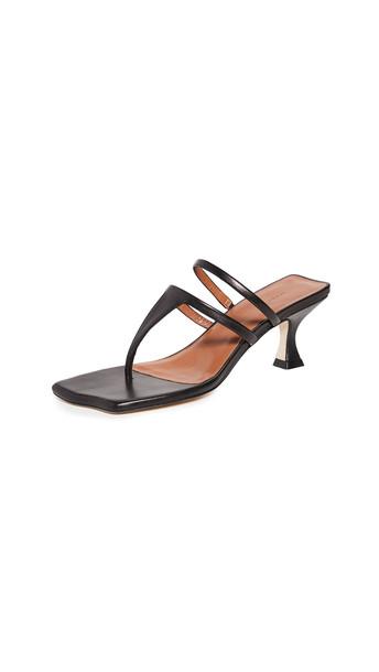 Rejina Pyo 60mm Allie Sandals in black