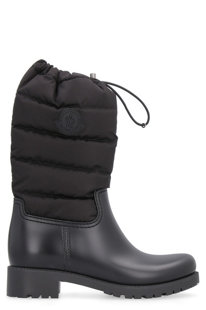 Moncler Ginette Rubber Boots in black