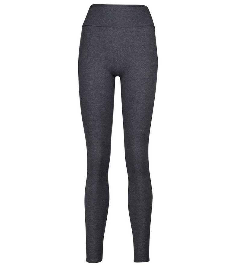 Live The Process Ballet high-rise leggings in grey