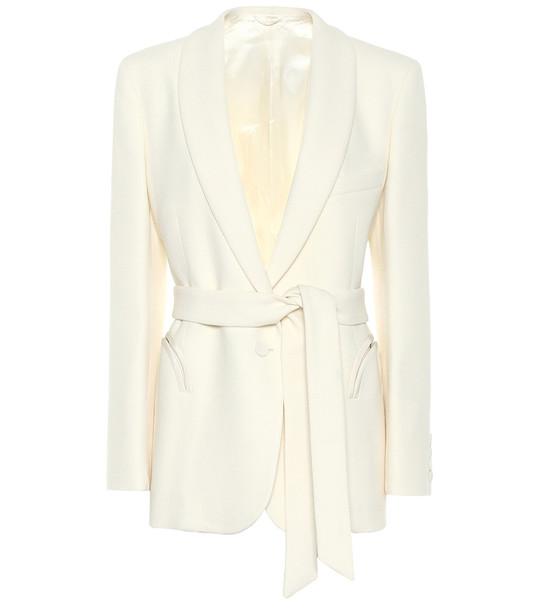 Blazé Milano Resolute wool blazer in white