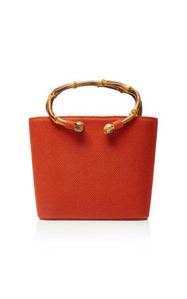 Glorinha Paranagua Lolita Canvas Bag in red