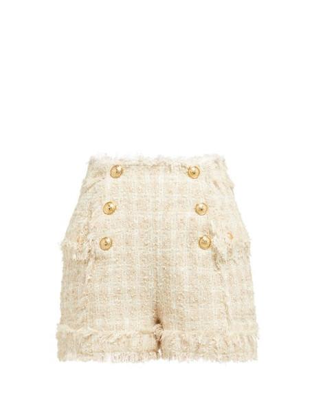 shorts high beige