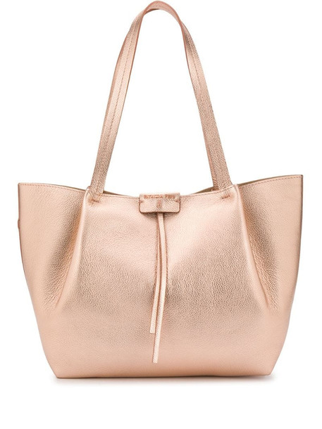 Patrizia Pepe City shopping tote in pink