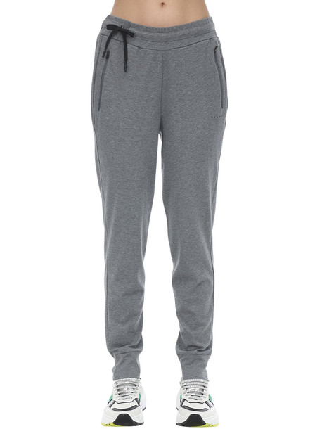 FALKE Cotton Blend Pants in grey