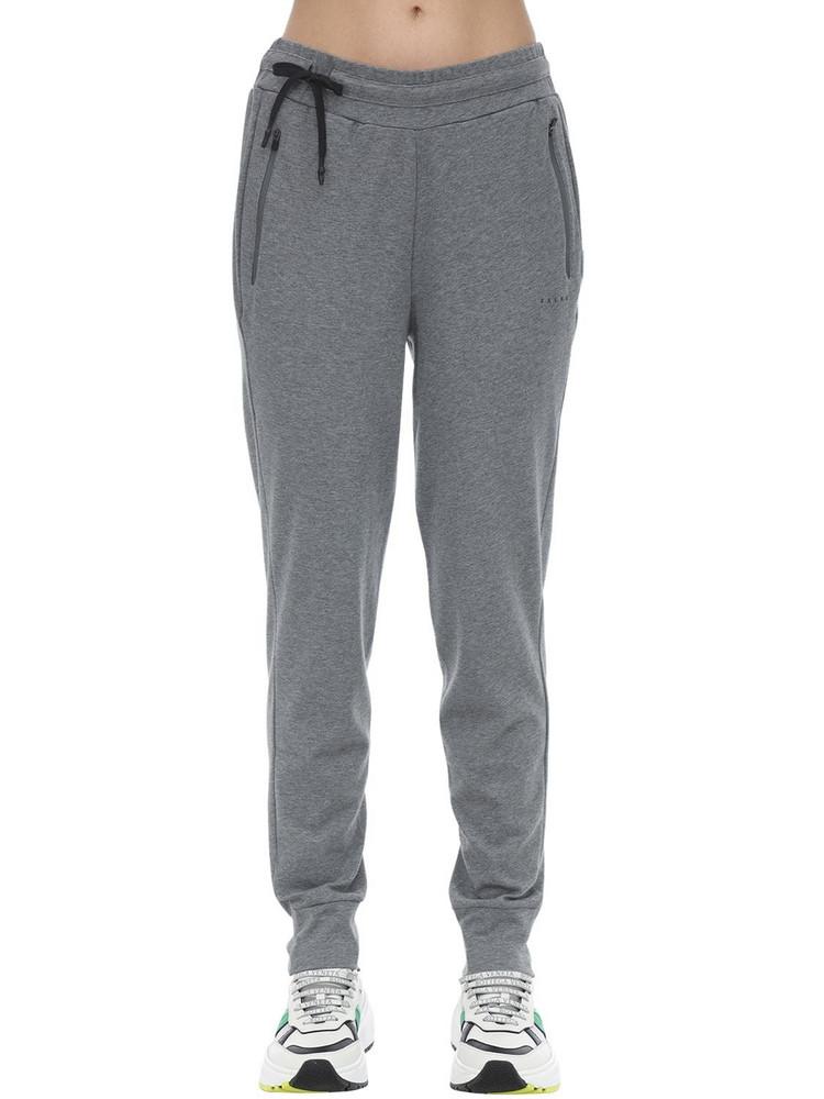 FALKE Cotton Blend Pants in grey