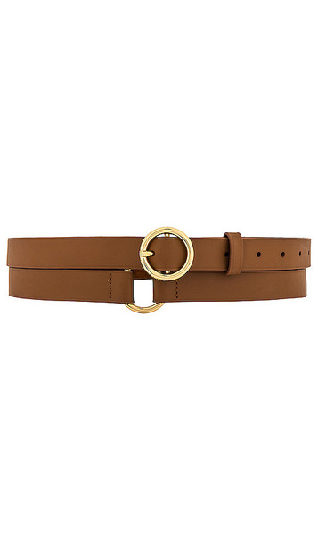 FRAME Double Wrap Belt in Brown