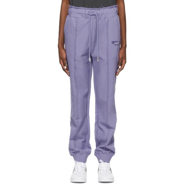 ADER error Purple Duct Tape Lounge Pants