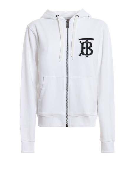 Burberry Aubree Hoodie in white