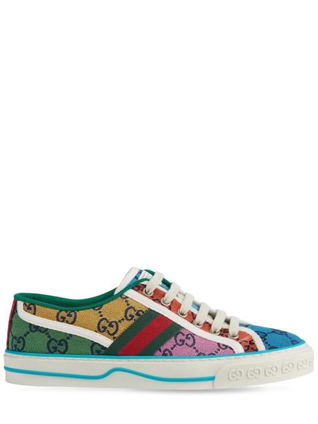 GUCCI 15mm Gg Multicolor Tennis Canvas Sneaker