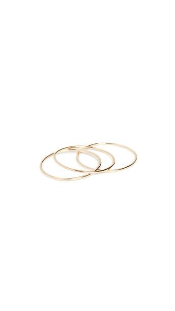 Ariel Gordon Jewelry 14k Paper Thin Rings in gold
