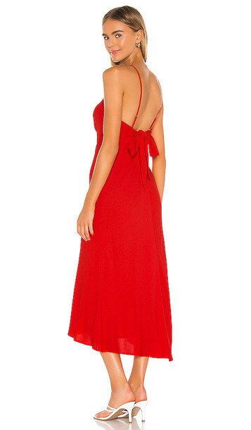 ASTR the Label Charisma Dress in Red