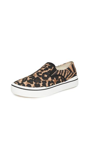 Steven Riga Slip On Sneakers in leopard