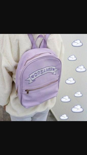 bag purple cute sweet dreamer