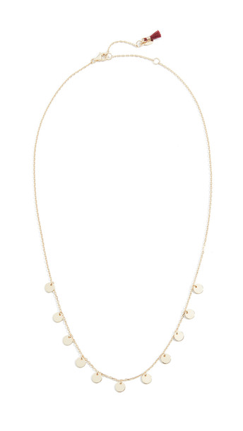 Shashi Kiara Necklace in gold / yellow