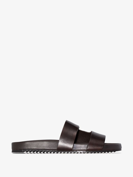 Grenson Brown Chadwick leather sandals